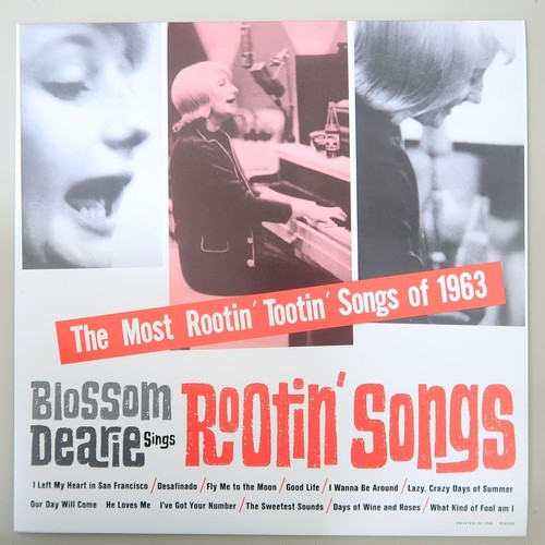 BLOSSOM DEARIE/ROOTIN SONGS 日本盤
