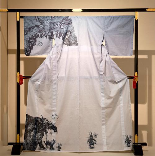 プレタ浴衣/六道輪廻と四十九日のコラージュ