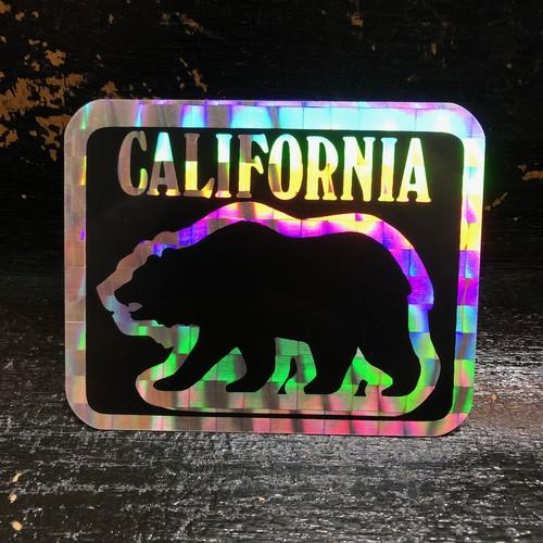 70's CALIFORNIA prism カリフォルニア プリズミック キラキラ ビンテージ ステッカー
