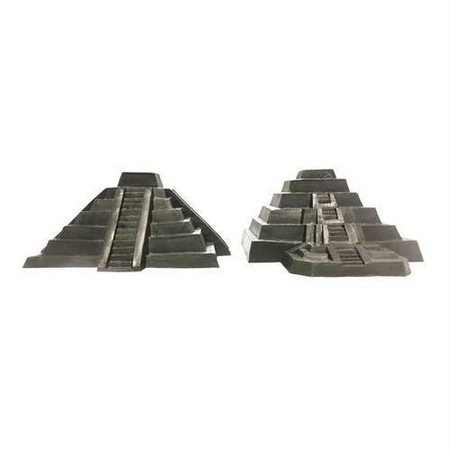 Plastic Pyramid Toy -gray-