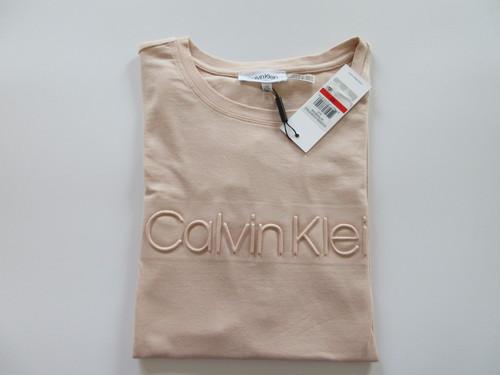 【カルバンクライン】CALVIN KLEIN Tシャツ ピンク