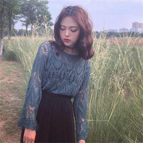◎detail lace blouse 2721