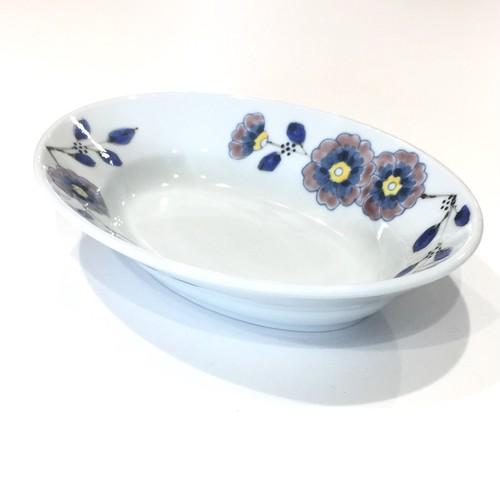 花枝紋  楕円鉢
