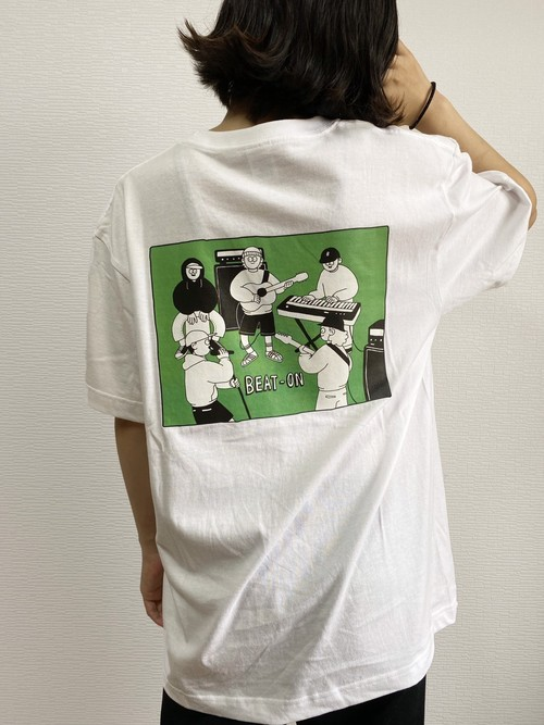 WEB限定 BEAT ON × It's a Sunny Day グラフィックアートTEE