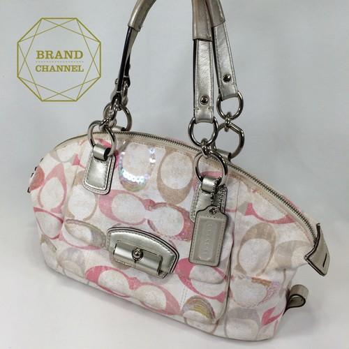 【ABランク】コーチ ☆ハンドバッグ