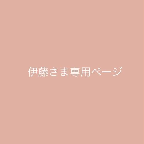 伊藤さま専用ページ