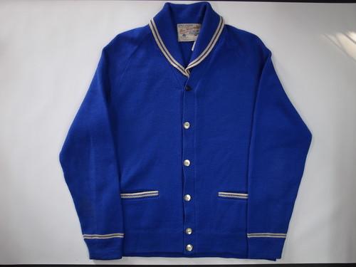 ショールカラー カーディガン 60's Hec Gervais Shawl collar Cardigan