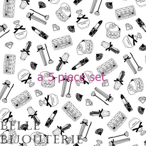 5枚set@1064(税別)Make Up(メイキャップ) ブラック A3