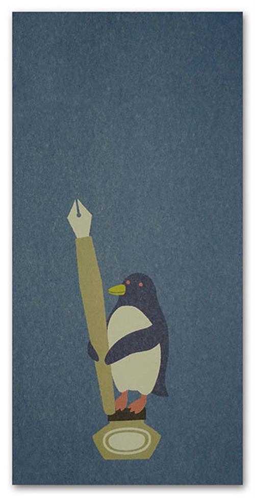PenPalZooながぽち封筒 ペンギン