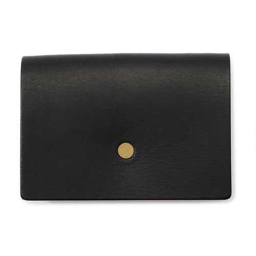 forme Change purse flat Liscio black