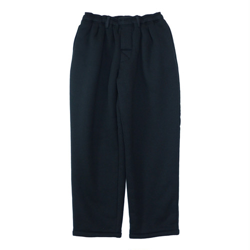 COMFOTABLE REASON (コンフォータブル リーズン) / BOA FLEECE SLACKS -BLACK-