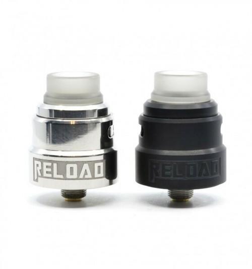 ReLoad S by Reload Vapor【CLONE】【送料無料】【24MM】【BF Pin】【Postless】【Quad Terminal】【Honeycomb Airflow】【RDA】