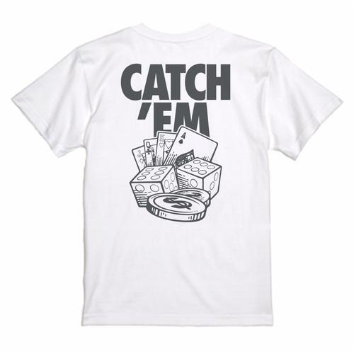 CATCH'EM TEE GAMBLING /ホワイト