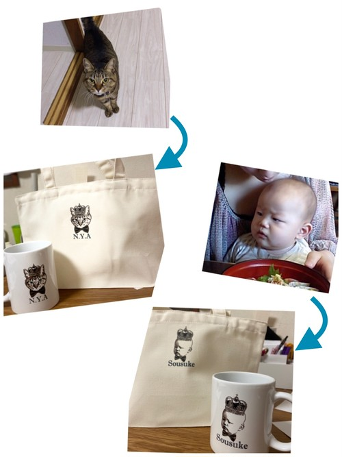 my bag & my cup のセット