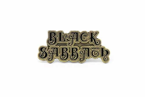 "Rockinpins""BLACK SABBATH 1st Logo"""