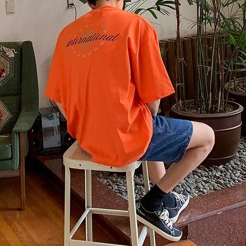 バックプリントTシャツ BL5794