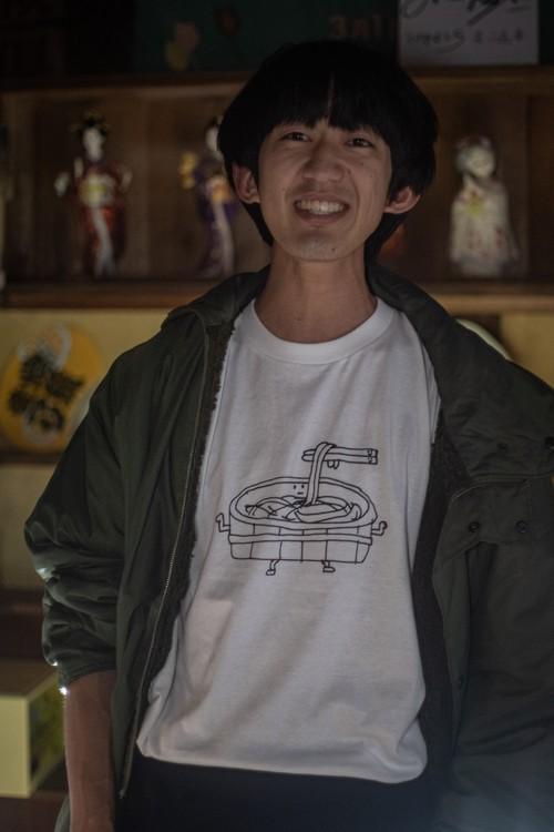 どいしょT シャツ たらいうどん編