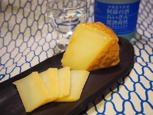 阿蘇産チーズ 熟成酒粕漬