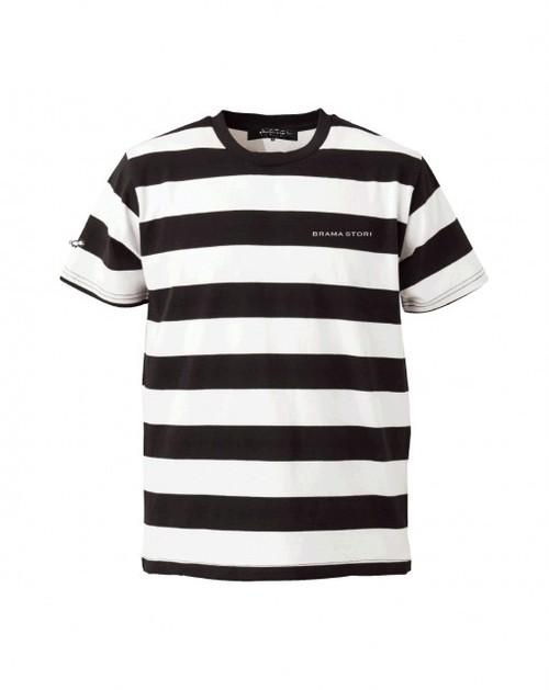 ボールドボーダー ショートスリーブTシャツ