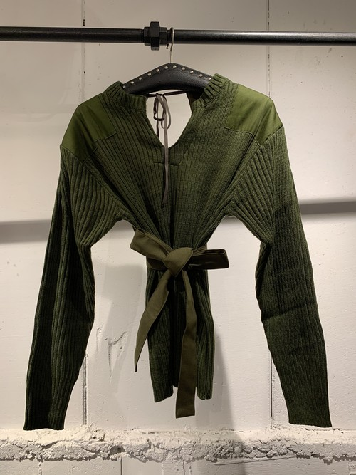 &her Army Knit/Khakid