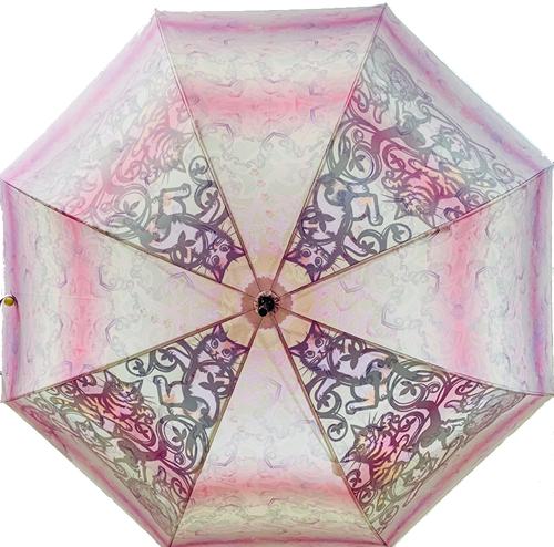 【受注】猫の木 新緑(アート傘)雨晴兼用傘60cm