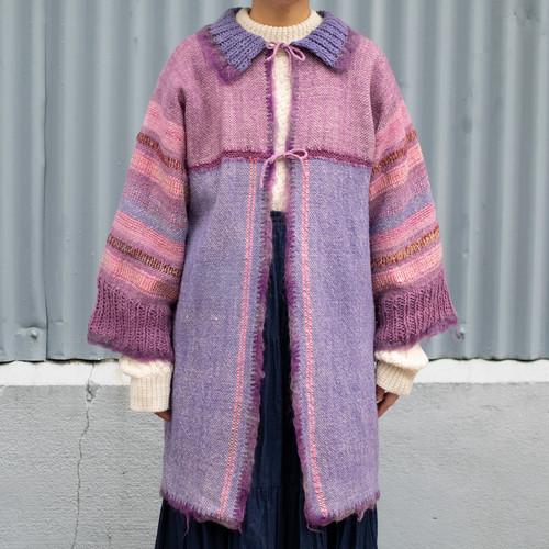 Woven & Knit Design Jacket
