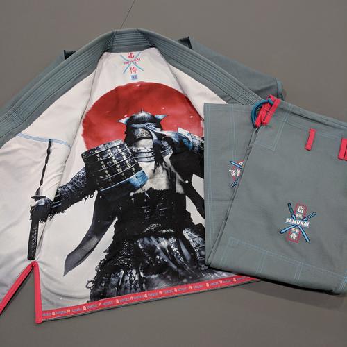 WAR TRIBE GEAR SAMURAI GI グレイ|ブラジリアン柔術衣
