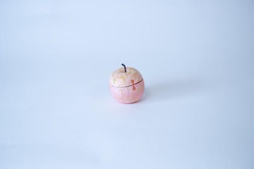 張り子りんご(ピンク・小)