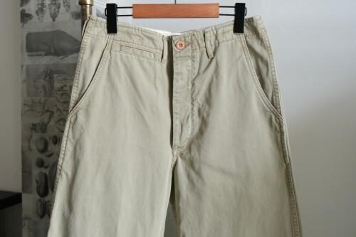 00's Nigel Cabourn cotton chino Pants