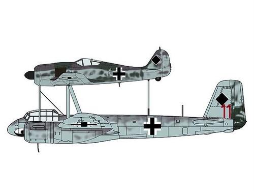 Fw190A-8 & Ju88G-1 「ミステルS2」