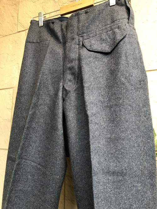 1940s British RAF wool trousers dated 1941
