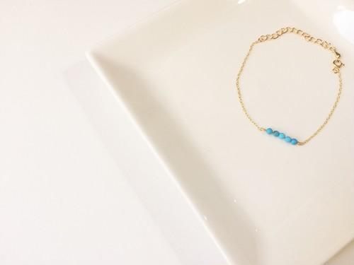 turquoise color bracelet