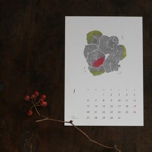 asakojirusi 「鳥と植物」2020カレンダー