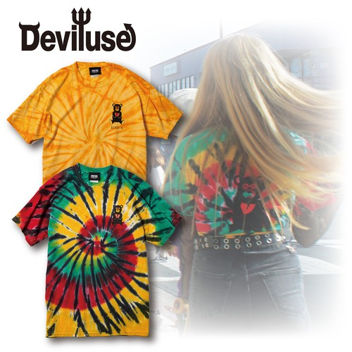 Deviluse(デビルユース) | Bear Jr Tie DyeT-shirts