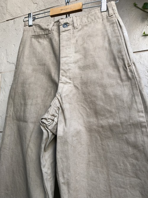 1950s Canadian military cotton duck trousers