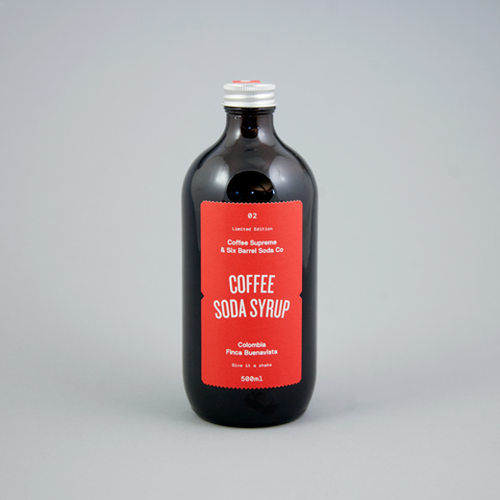 Six Barrel & Co. x Coffee Soda Syrup / コーヒー シロップ