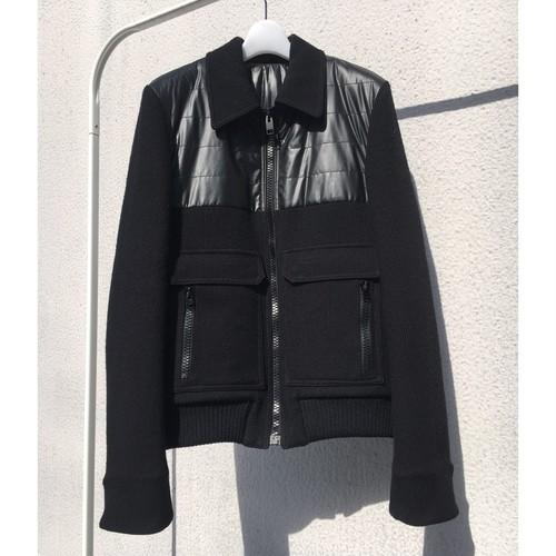 DIOR HOMME / nylon switching Bomber jacket
