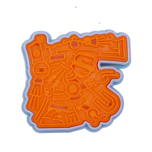 アステカの神 テスカトリポカ 0477