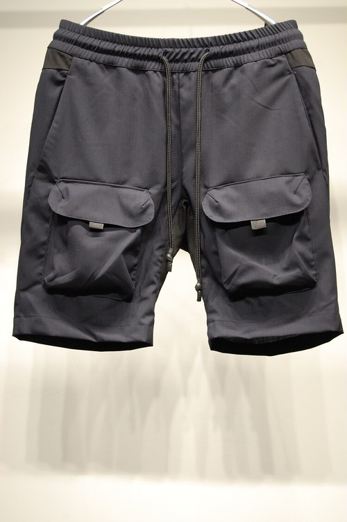 RW-251 BUSH JERSEY SHORTS NAVY