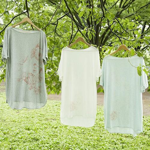 """"""" fiiju """" × """" paw """" shikaku Tシャツ"""