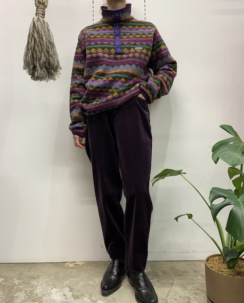 1990s patagonia MADE lN USA snap-t 【S】
