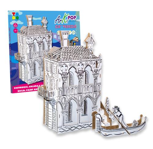 TODO ベネチア 組み立てる 知育玩具 イタリア製