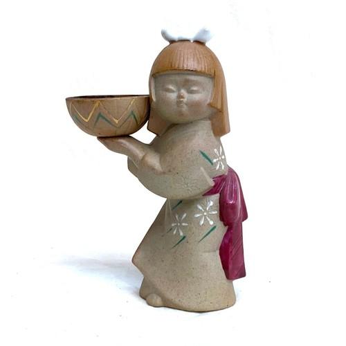 陶器のお香スタンド (sa201)