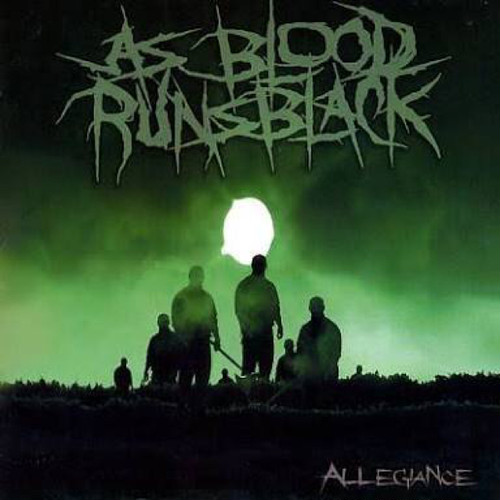 【USED】AS BLOOD RUNS BLACK / Allegiance