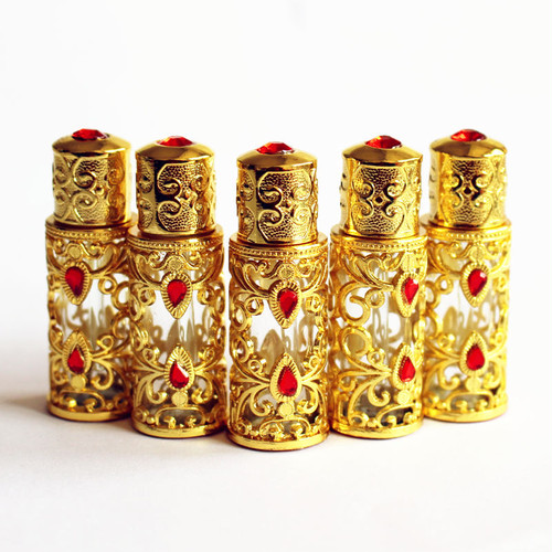 アラブ風香水瓶☆パフューム アロマ 中東 アラビアンナイト 3ml