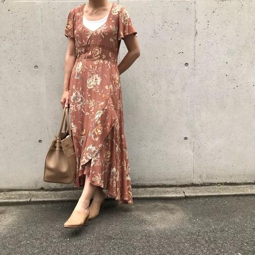 SPELL&THE GYPSY/花柄ロングワンピース