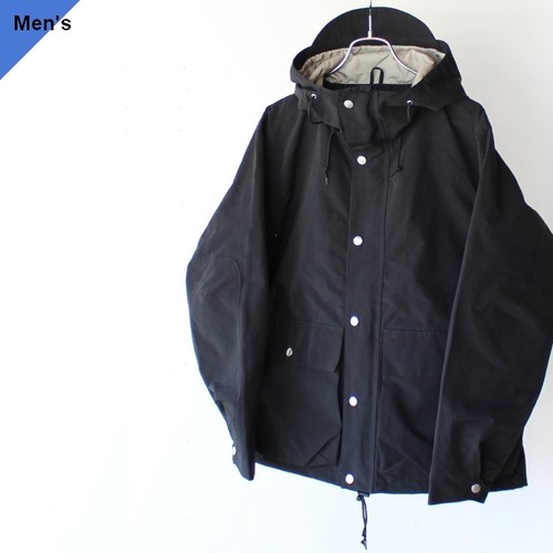 ENDS and MEANS エンズアンドミーンズ Sanpo Jacket ブラック EM-ST-J01