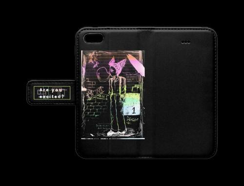 iPhone 5 / 5s / SE - オリジナルキャラクター スマホケース(ver.1black)