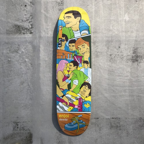 enjoi / Deedz Weekend At Louies Shape / 8.375x31.6inch  (21.27x80.3cm)