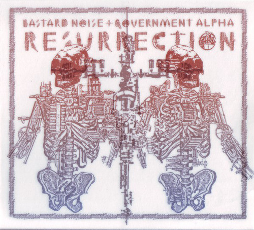 Bastard Noise / Government Alpha ‎– Resurrection(CD)